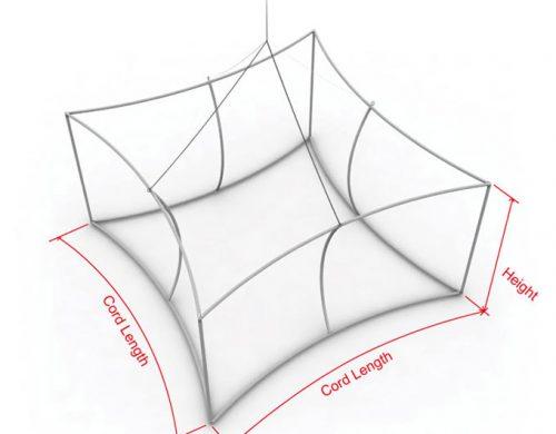 Concave Square Hanging