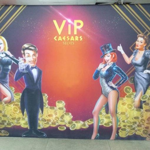 Las Vegas tradeshow Backdrop Printing