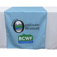Exhibition Event Table runner printing