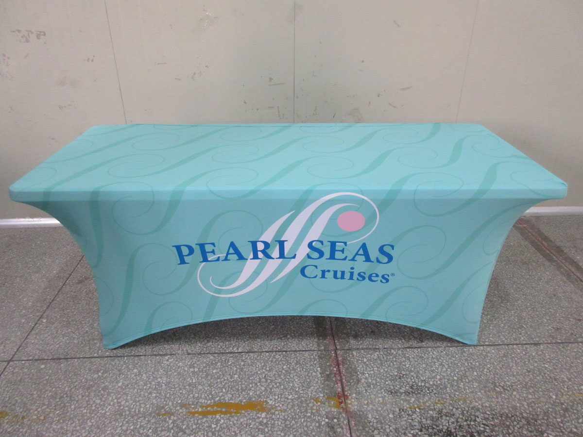 Printed Tension Spandex Stretch Tablecloths Free Shipping