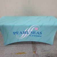 Lycra stretch tablecloth