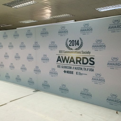 Awards show backdrop