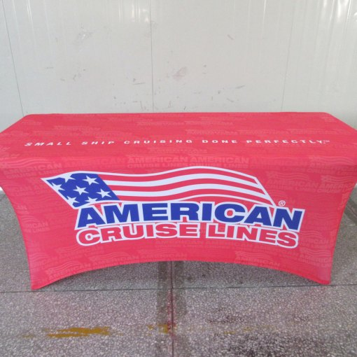 Stretch spandex table cover