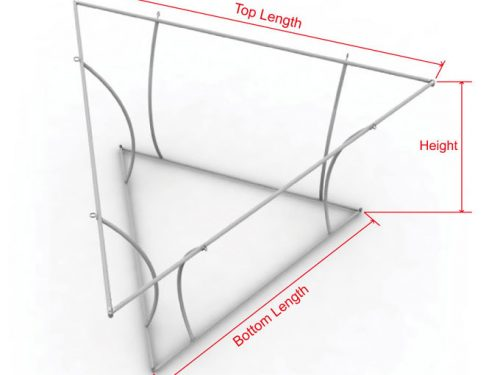 Tapered 3D Triangle