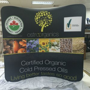 Stretch Tension Fabric Display