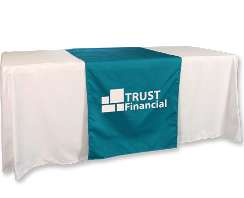 Satin Table Runners printed