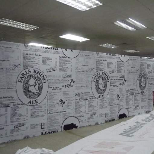 Event and trade show display backdrop