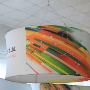 Round hanging display