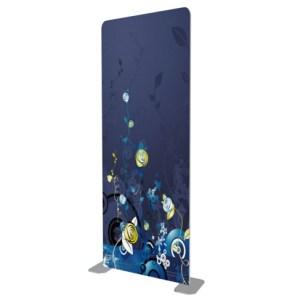7.5 foot tall Tension Fabric Display
