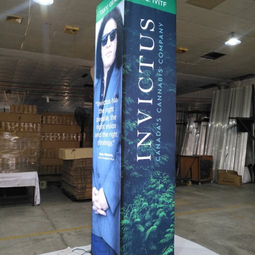 11 foot high x 2.5 wide LED Tower