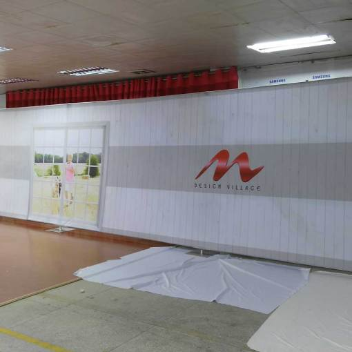 Exhibition Printing 40 foot display