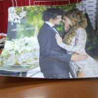 Custom Printed Wedding Backdrop shipped to Toronto