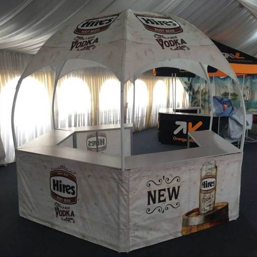 Promotional Booth Tent printing shipped to Toronto