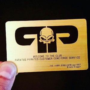 Metal card printing