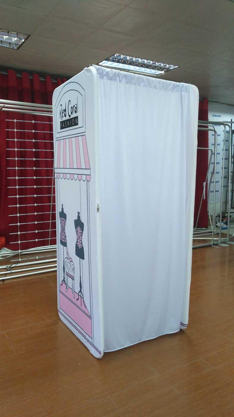 Portable Dressing Room Change Rooms Custom Print
