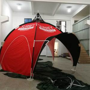 Printed Arch Tents