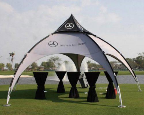 Custom Arch Tent