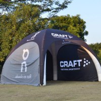 Printed Event Tent