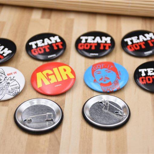 Custom-Pinback-Buttons