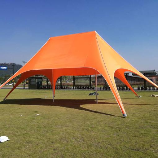 Double-Peak-Star-Tent