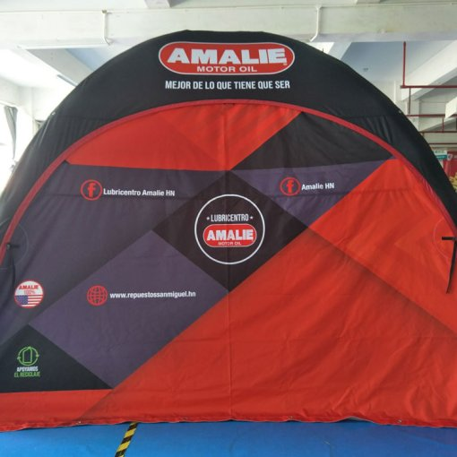 Inflatable-Air-Tent-Shipped-to-Honduras