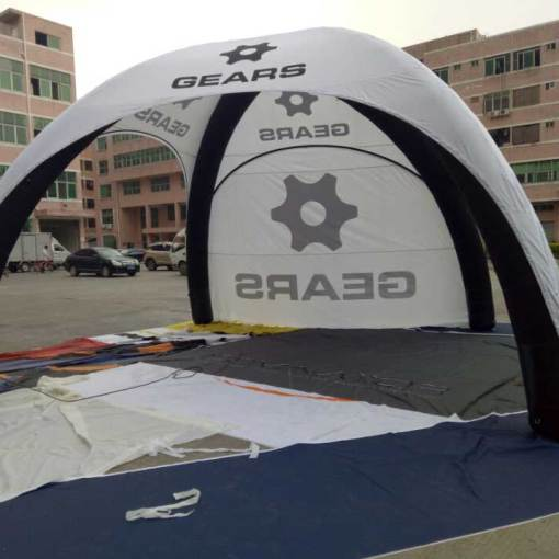 Inflatable Tent custom printed with logo