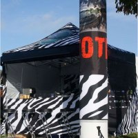 Inflatable Column with Tent