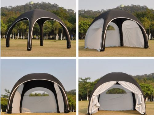 Inflatable X Tent with Walls