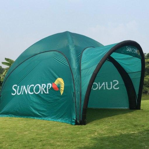 Marketing logo tents