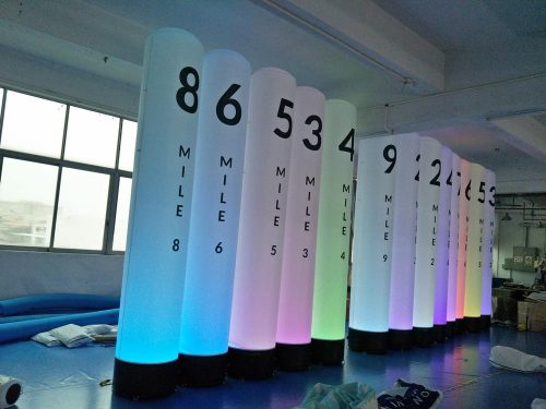 LED Tube Banners