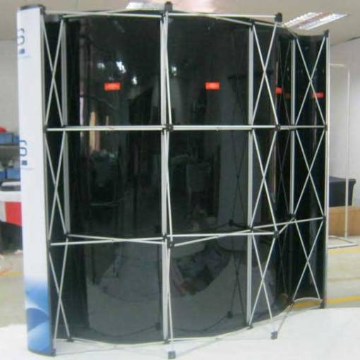 Back of Magnetic Display
