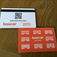Plastic Card printing with magnetic stripe and QR Code