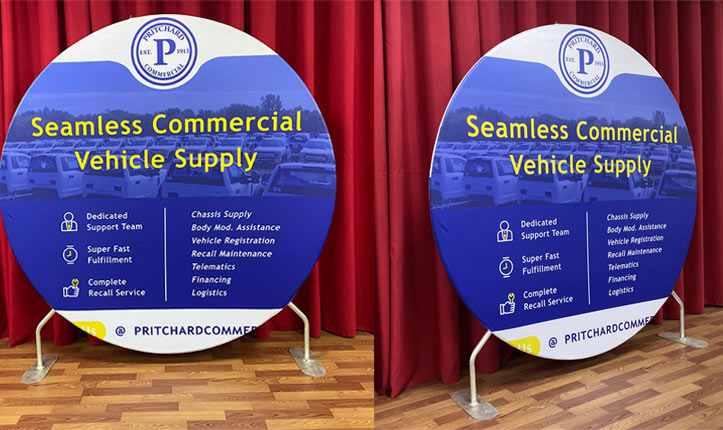Large Round Backdrop Stand