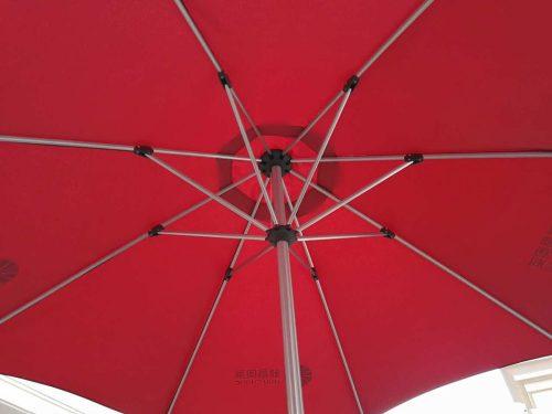 Inside Restaurant Umbrella