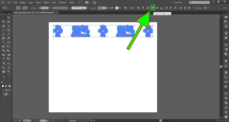 Logo Wall Instructions Illustrator Step 4-c
