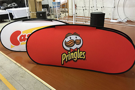 Oval Pop up Banner