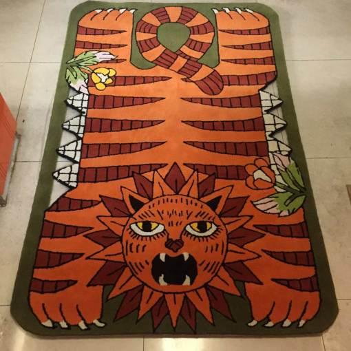 Hand-Made-Wool-Carpet
