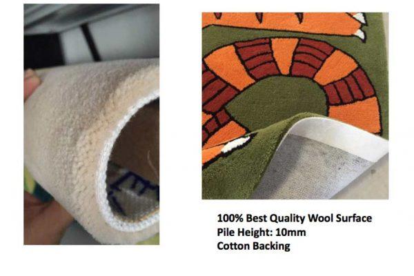 Wool Carpet Pile Height