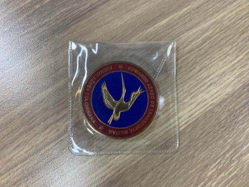 Coin in a PVC Sleeve