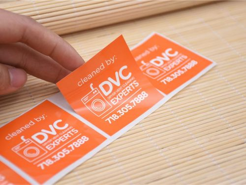Low Tack Stickers