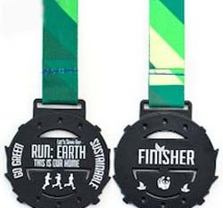 Two Sided Sports Medal