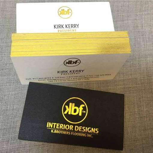 Foil-Edge-Business-Cards