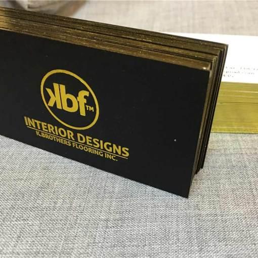 Gold-Foil-Edge-Business-Cards