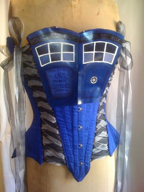 TARDIS Corset (She's bigger on the inside)