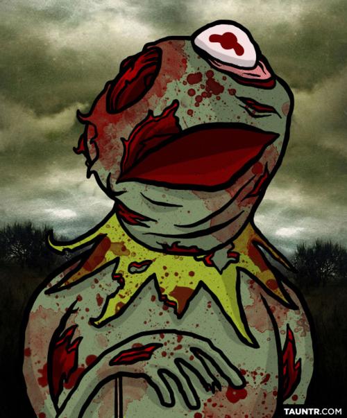 Zombie Muppets!