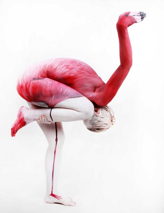 Bodypaintings by Gesine Marwedel