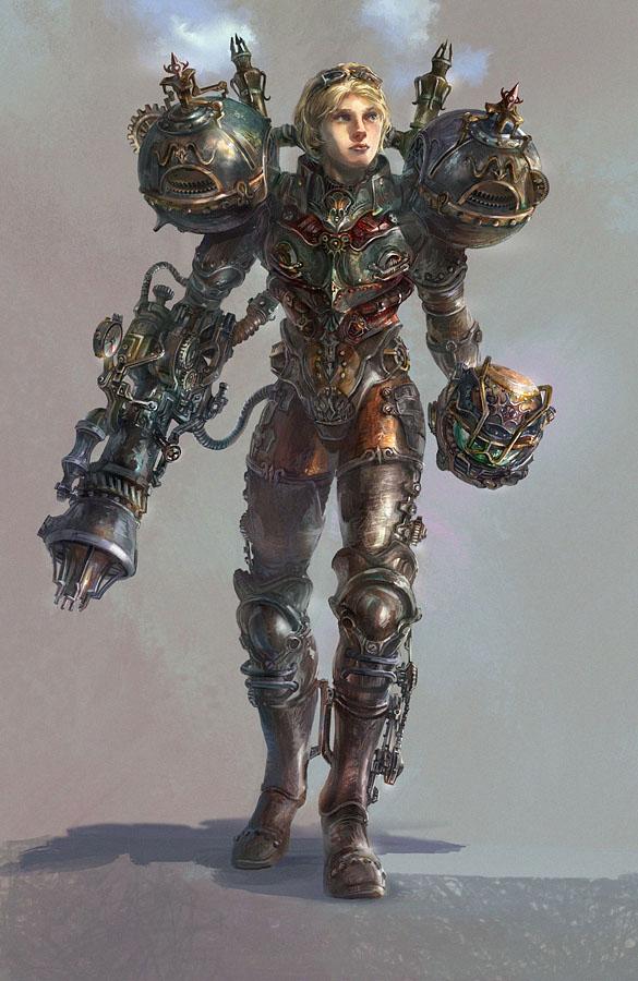 Steampunk Samus Aran