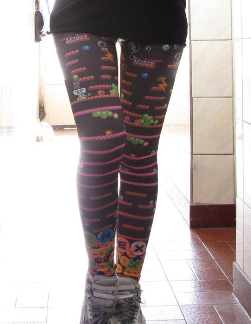 Bubble Bobble Leggings!