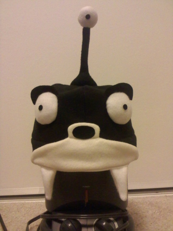Futurama Nibbler Fleece Hat