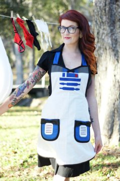 Star Wars R2D2 apron costume